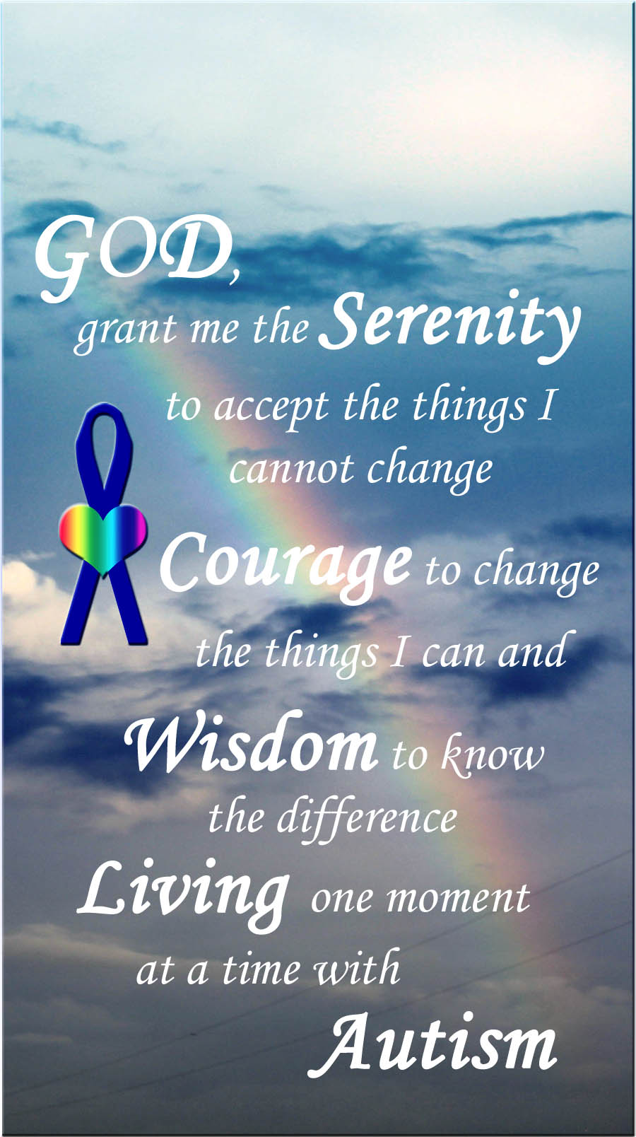 Serenity Prayer for Autism